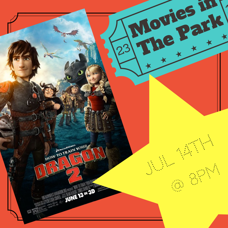 How To Train Your Dragon - July 14th