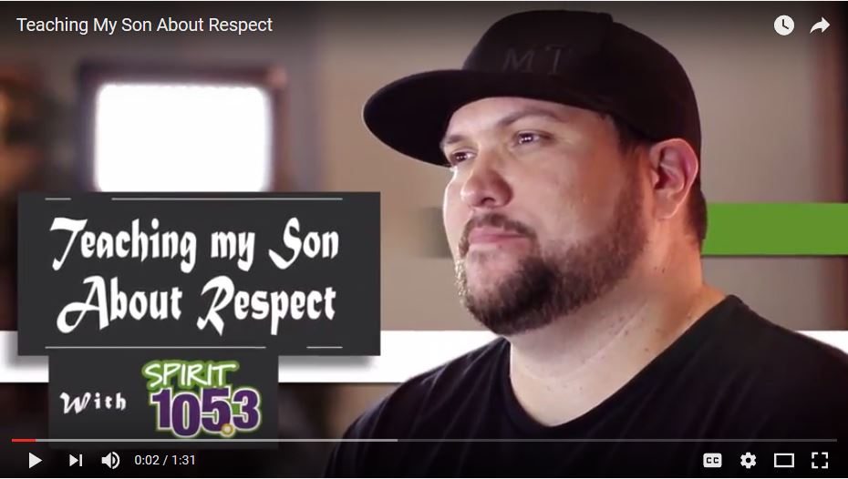 Teaching My Son About Respect