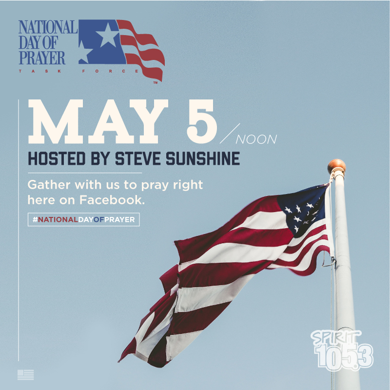 2016 National Day of Prayer - Special Facebook LIVE Event