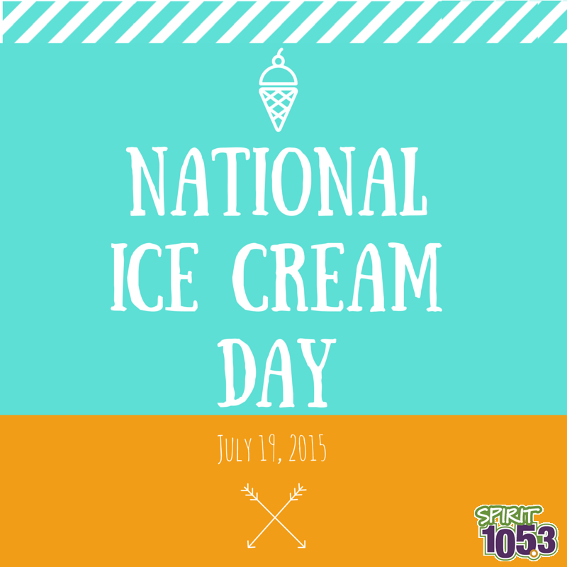 Here's the Scoop: National Ice Cream Day