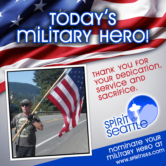 Recognizing Your Military Hero - Dave Sivewright
