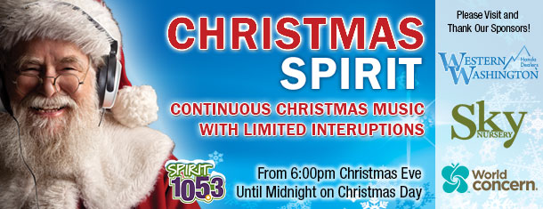 Share the SPIRIT of Christmas!