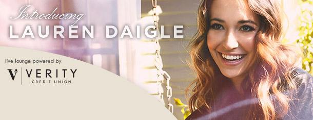 SPIRIT Live Lounge: Lauren Daigle