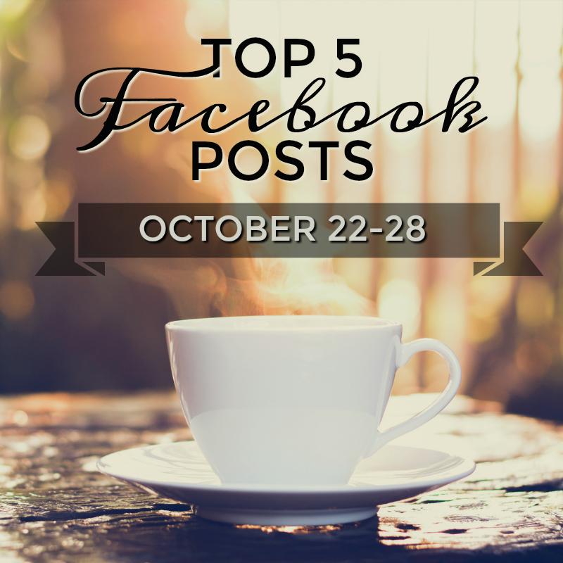 Facebook Top 5 (Oct 22-28)