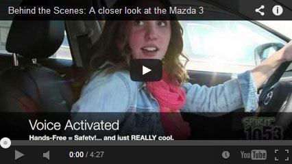 Behind the Scenes: A closer look at the Mazda 3