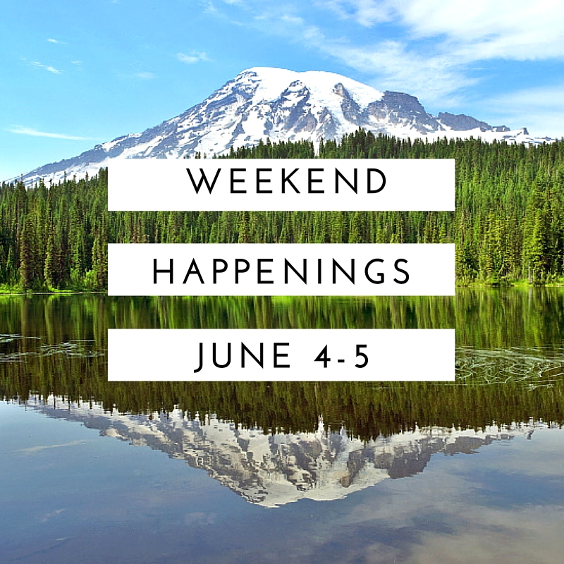 Weekend Happenings: June 3-5