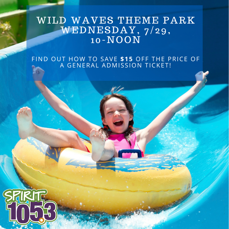 What to do at Wild Waves Theme Park!