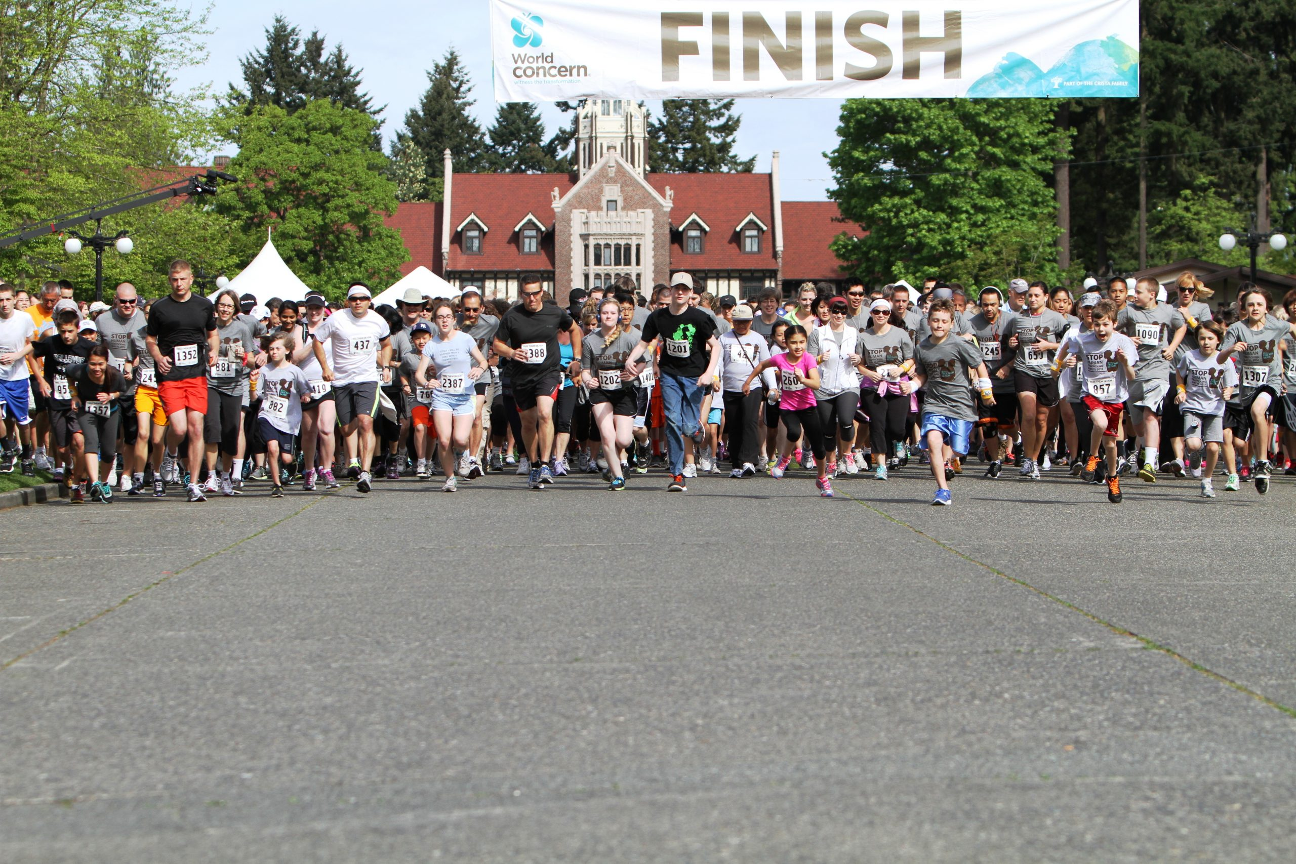 Runners/Walkers Unite to Stop Human Trafficking