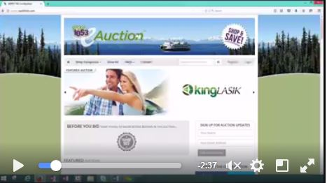 VIDEO: How Easy Is the SPIRIT e-Auction Really? Let's find out!