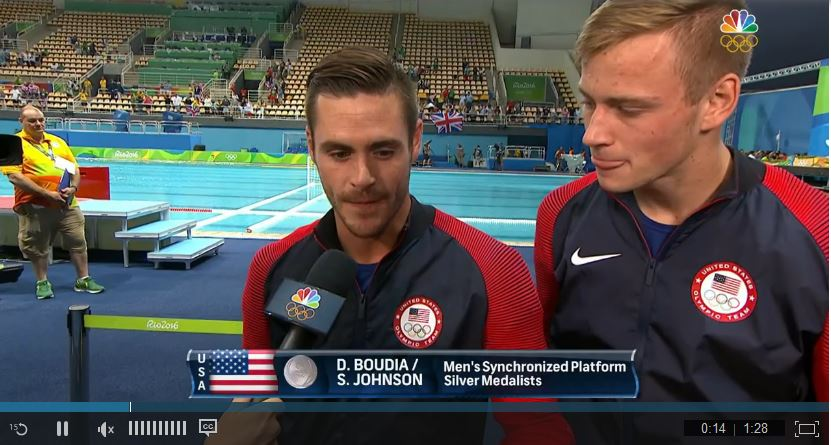 Divers Johnson & Boudia Rely on Faith & they TELL THE WORLD