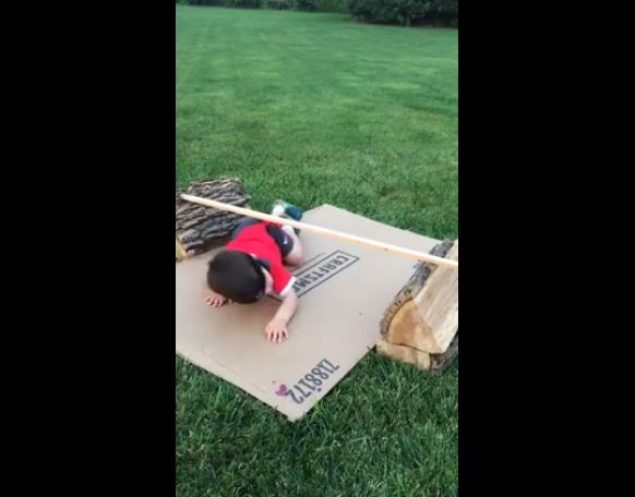 Epic Homemade Obstacle Course