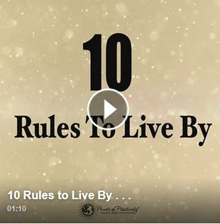 10 Rules to Live By