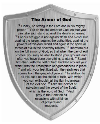 Armor of God - PRINTABLE