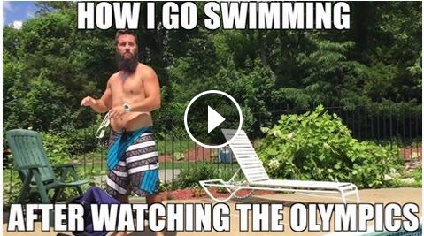 How We Go Swimming After The Olympics