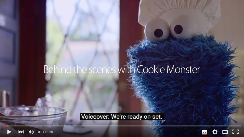 Cookie Monster Outtakes