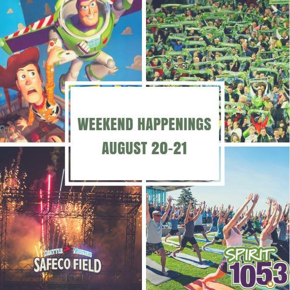 Weekend Happenings: August 20-21