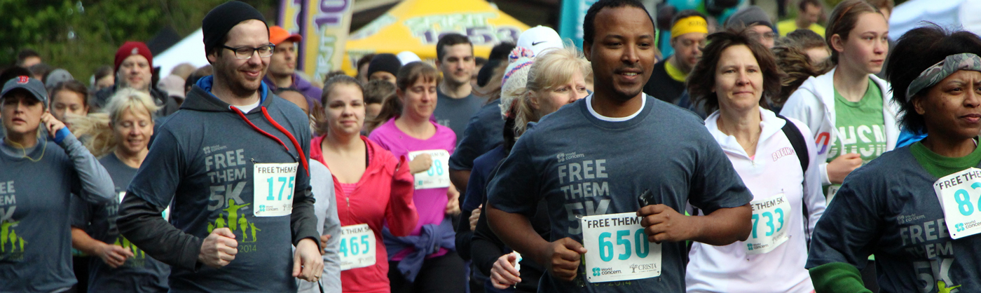 'Free Them' 5K Gets a New Name and Continues Fight Against Human Trafficking