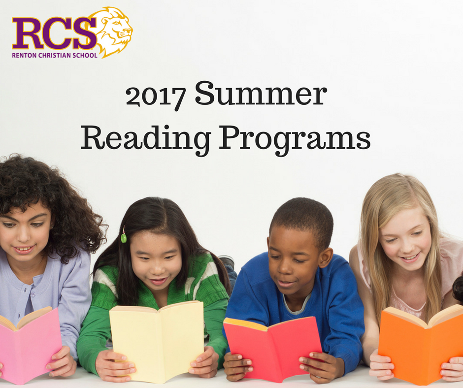 2017 Summer Reading Programs