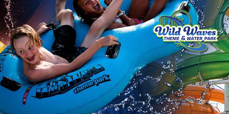 Win Wild Waves Tickets this week 7am, 10am, & 5pm