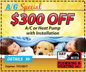 Save $300 on A/C or Heat Pump Installation
