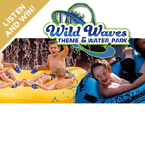 Win a pair of tickets to Wild Waves!