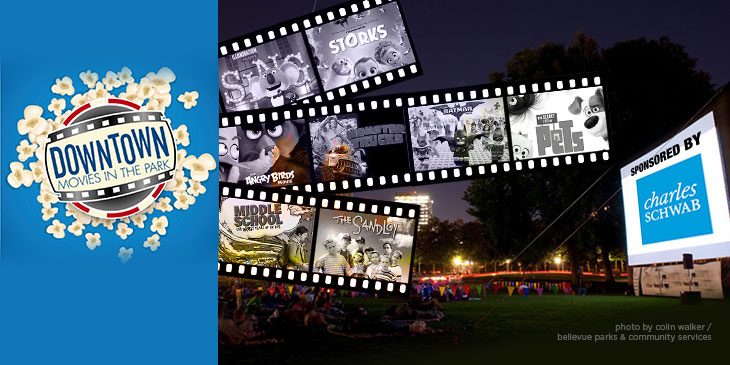 Join SPIRIT at Bellevue Movies in the Park