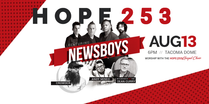Win an epic adventure with the Newsboys!