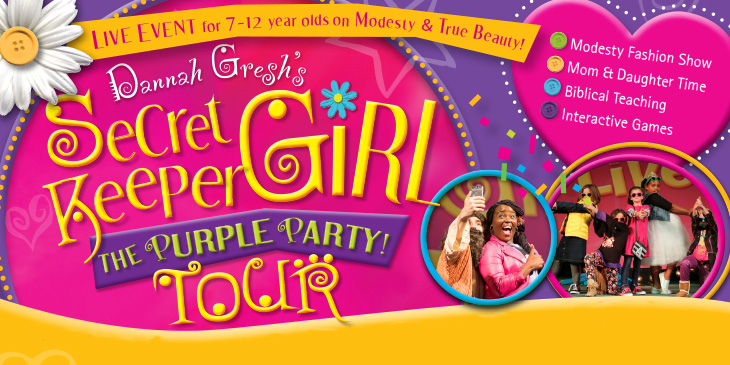 "Secret Keeper Girl ""The Purple Party Tour"" is Back"