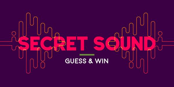 Secret Sound Winner - Congratulations Cristina from Everett!