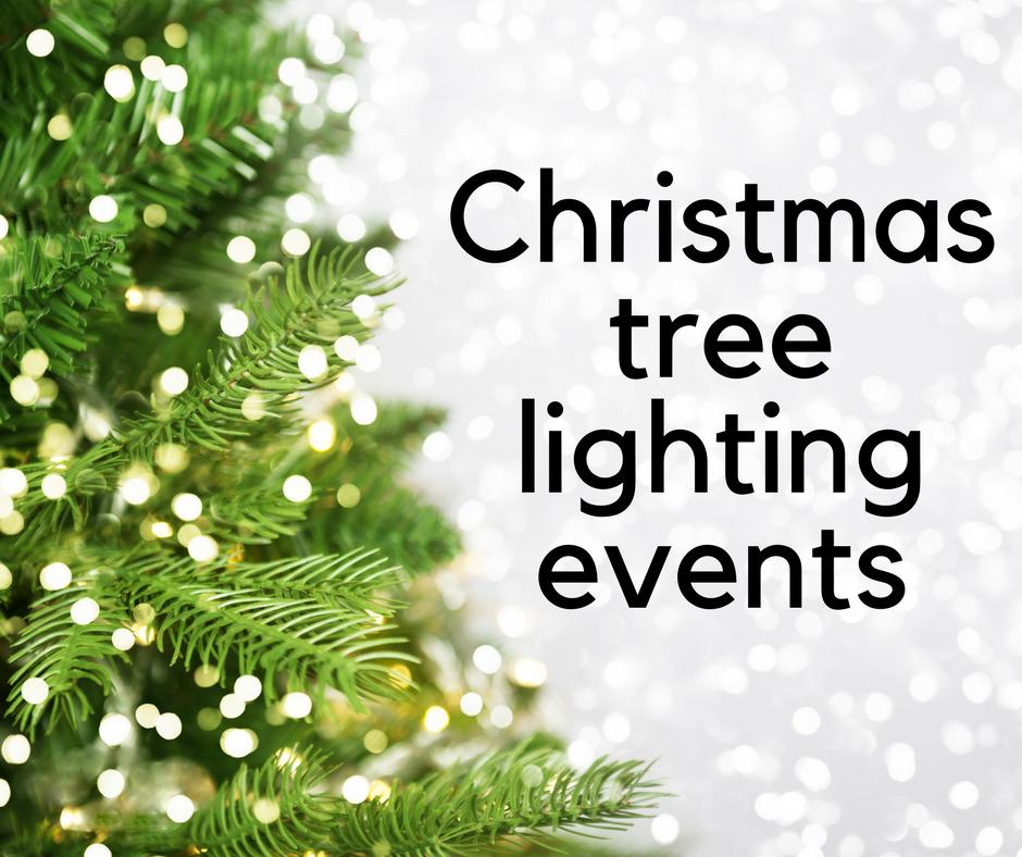 Christmas Tree Lighting Events 12/1-12/2
