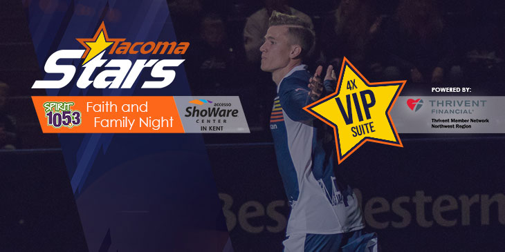 Win a VIP Suite Experience for 4!