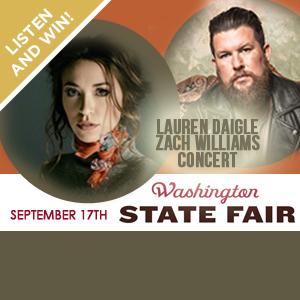 Win a Pair of Tix to Lauren Daigle/Zach Williams!