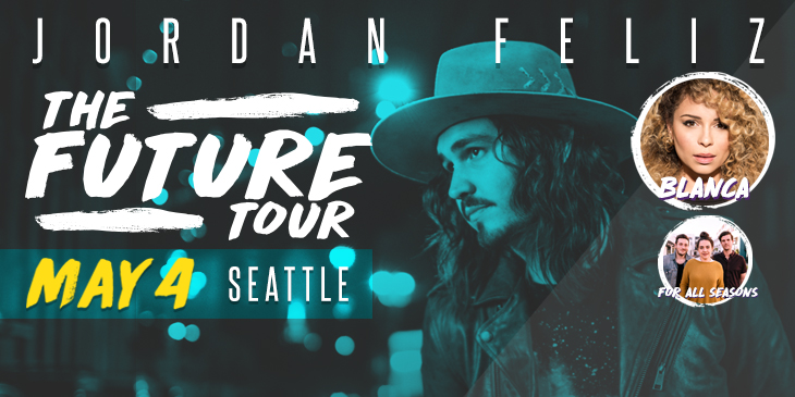 Reserve your seat to see Jordan Feliz this May!