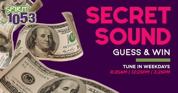 Congrats to Secret Sound Winner Sherry!