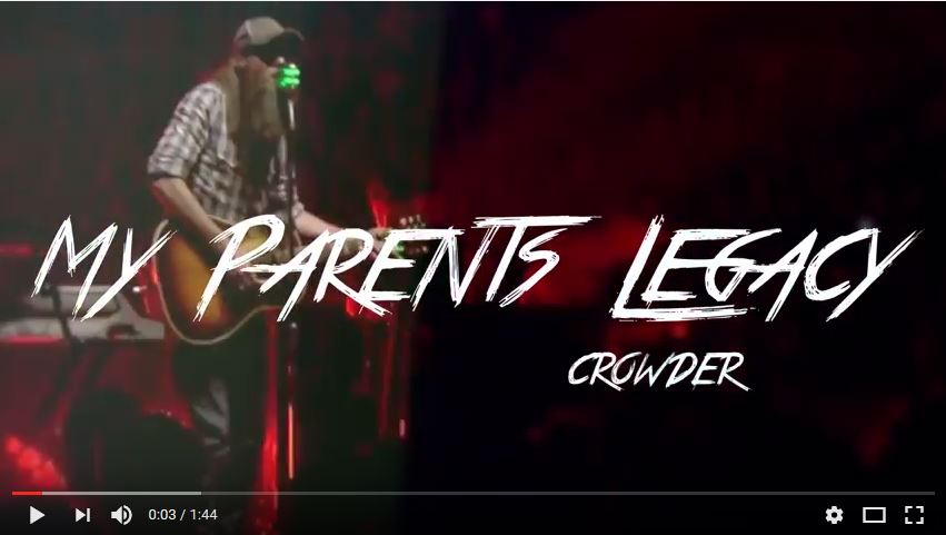 David Crowder on How His Family Legacy Shaped Him