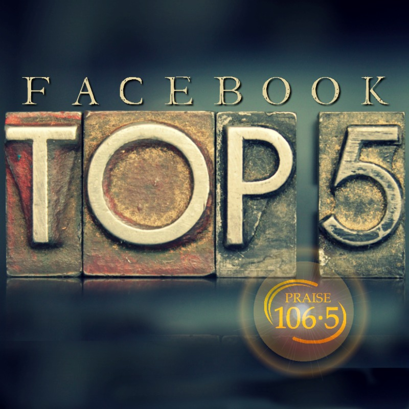 Facebook Top 5 (03/10-03/16)