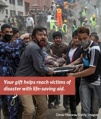 World Concern Responds to Help Victims of Nepal Earthquake