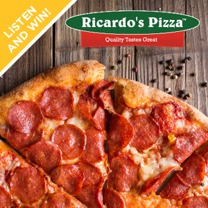 Daily Giveaway: $50 Ricardo's Pizza Gift Card!