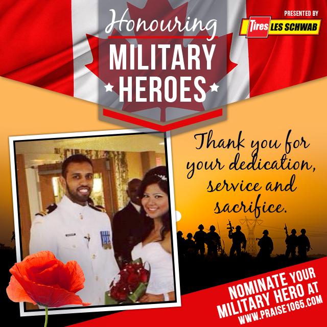 Military Hero - Jeriel Nanthakumar
