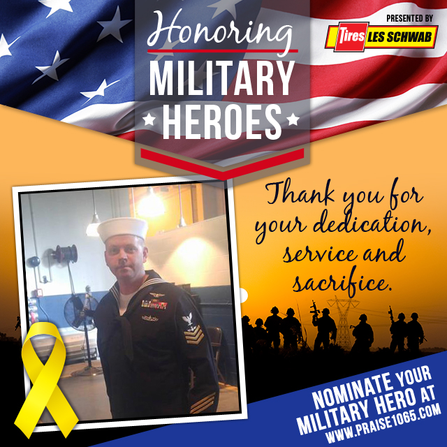 Military Hero- Andrew Schmal
