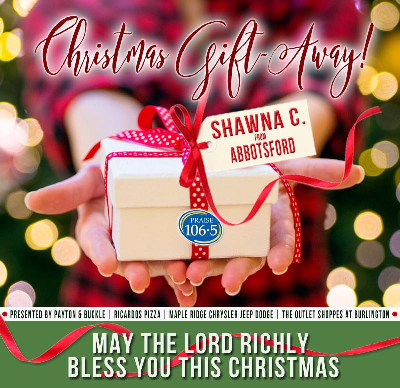 Christmas Gift Away Recipient #10: Shawna C.