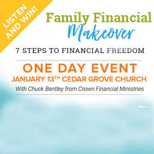 Win 4 Tickets to our Crown Financial Seminar!