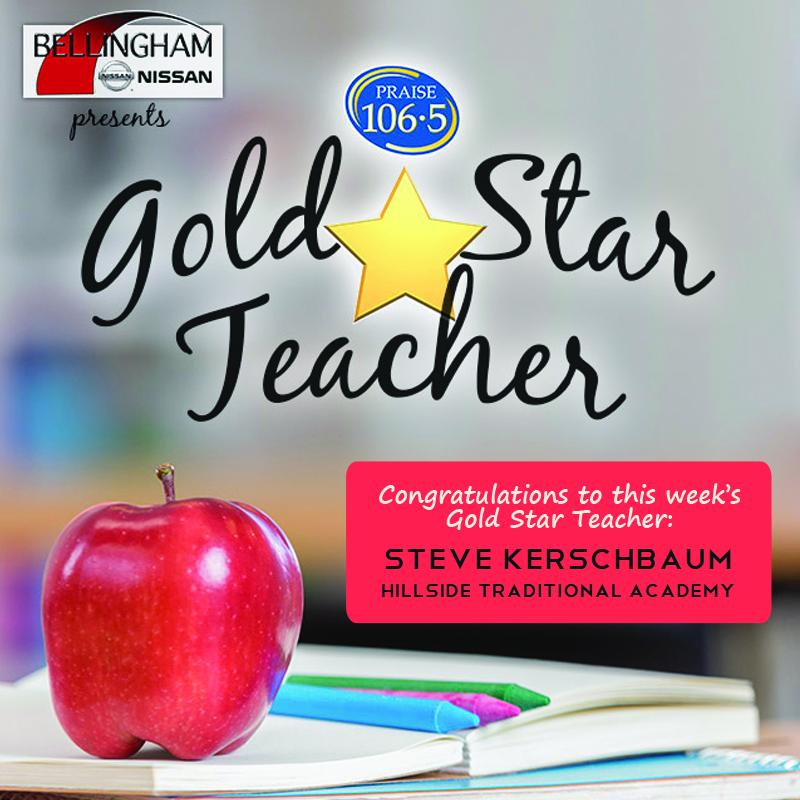 Gold Star Teacher - Steve Kerschbaum