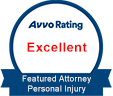 Avvo Rating: Excellent (Featured Attorney Personal Injury)