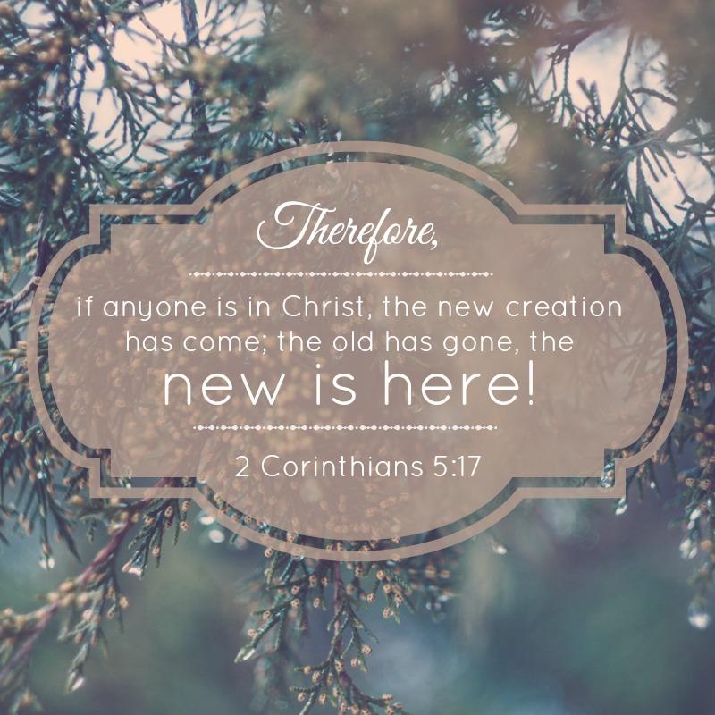 2 Corinthians 5:17-