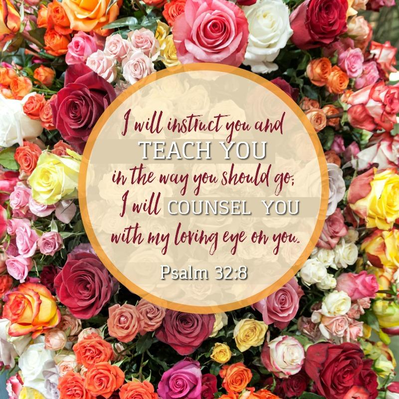 Psalm 32:8-