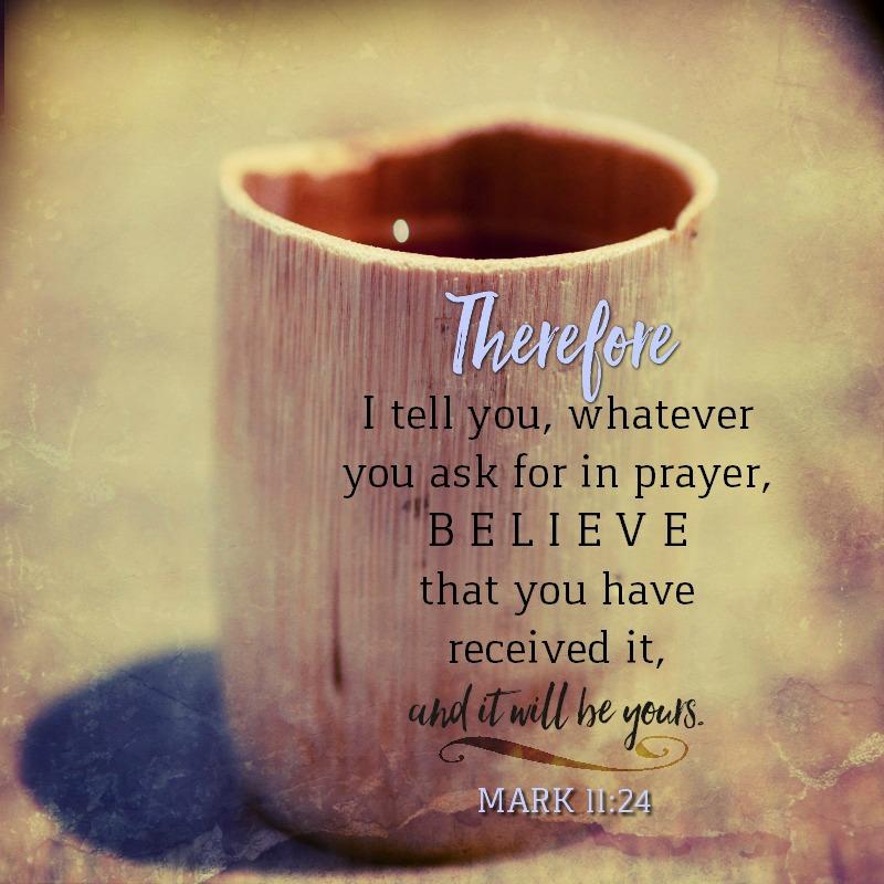 Mark 11:24-