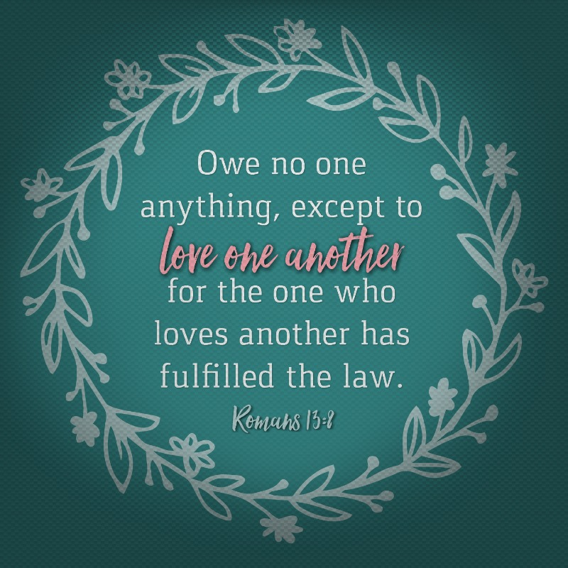 Romans 13:8