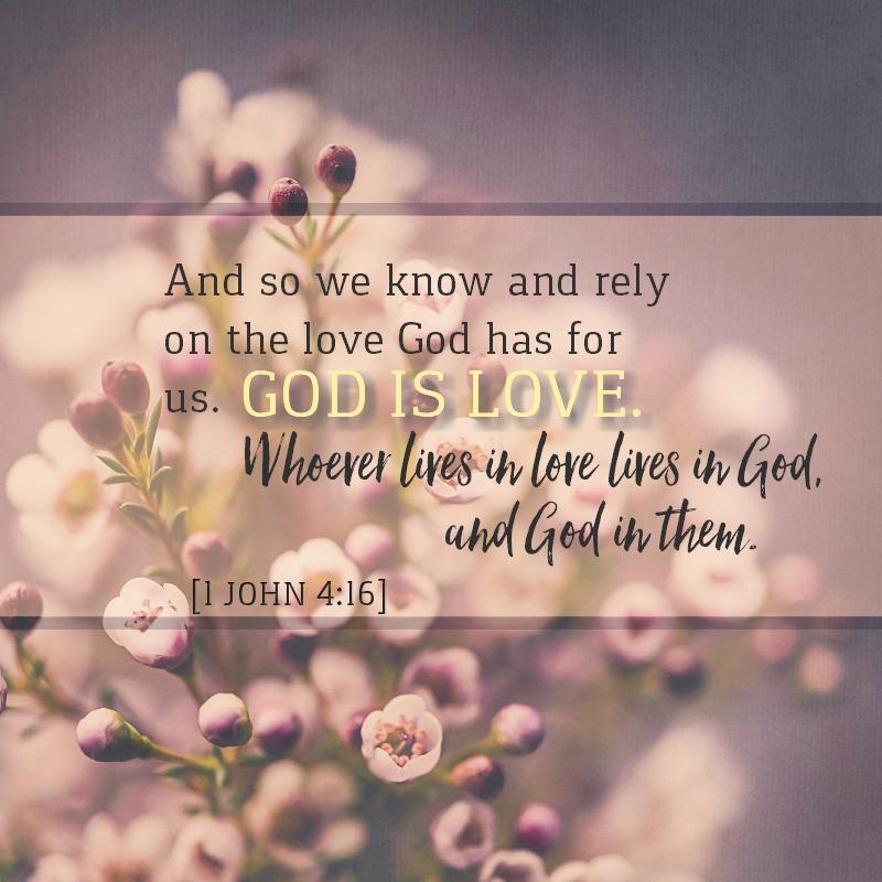 1 John 4:16 -
