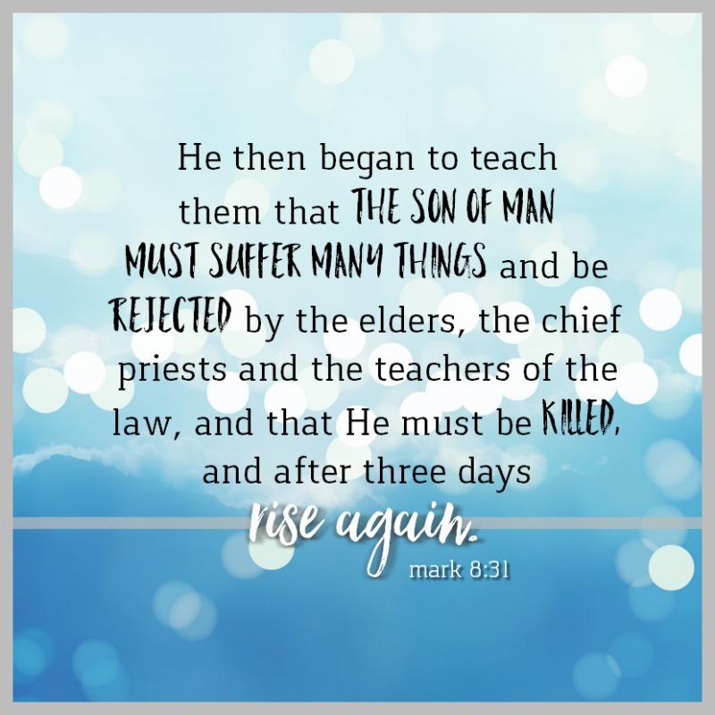 Mark 8:31